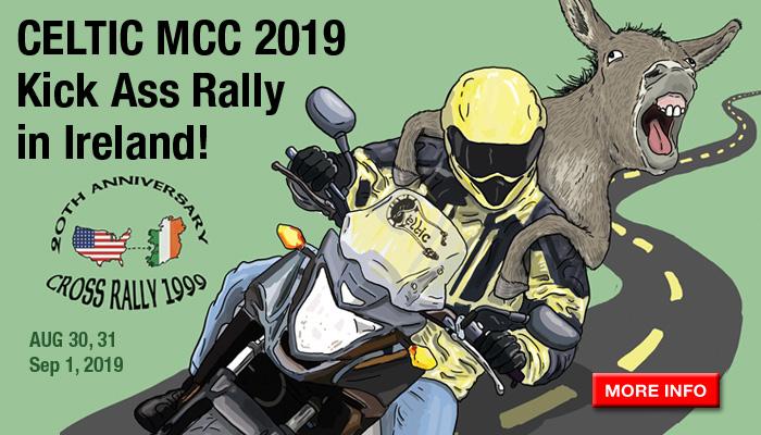 Celtic MCC 2019 Kick Ass Rally in Ireland!