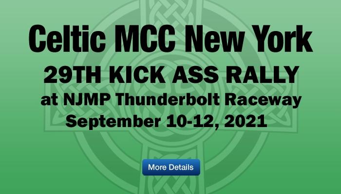 Celtic MCC 2021 Kick Ass Rally