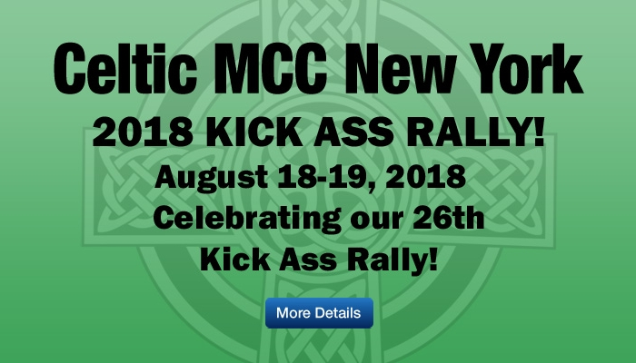 Celtic MCC 2018 Kick Ass Rally
