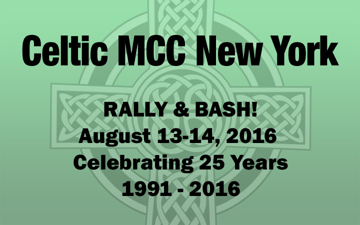 Celtic MCC 2016 Rally