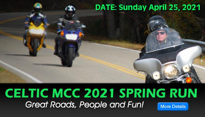 Celtic MCC 2021 Spring Run