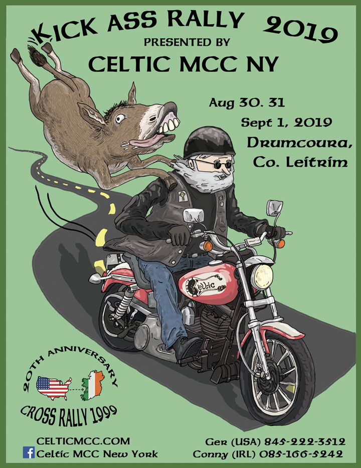 Celtic MCC 2019 Kick Ass Rally in Ireland!