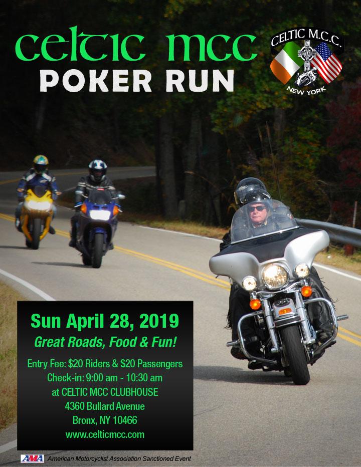 Celtic MCC 2019 Poker Run