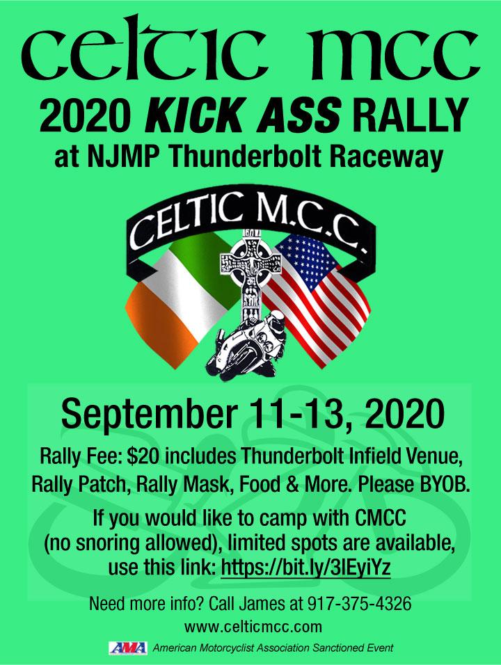 Celtic MCC 2020 Kick Ass Rally