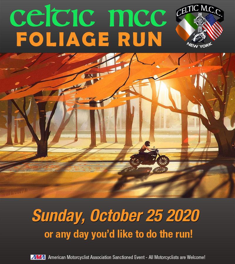 Celtic MCC 2020 Fall Foliage Run